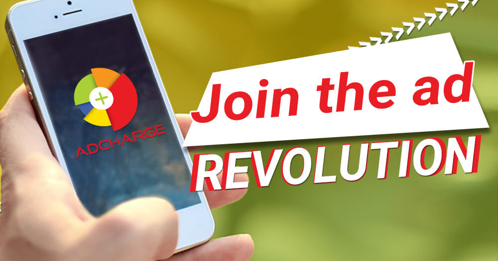 Join the ad revolution with Adcharge Media platform