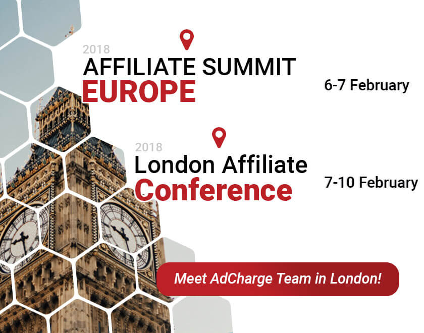 Meet AdCharge team in London - media platform for mobile advertising