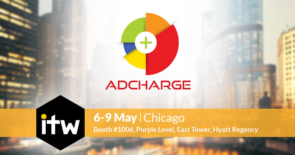 AdCharge will be showcased at ITW 2018