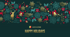 AdCharge team wishes you Happy Holidays