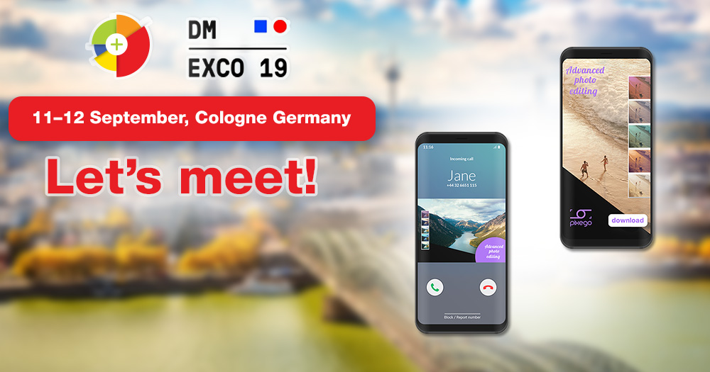 AdCharge team is going to DMEXCO 2019